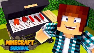 Minecraft Survival #42 - CHURRASCO !!