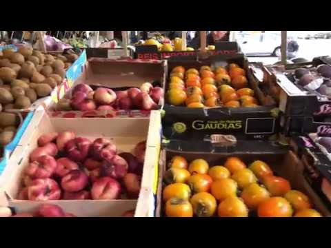 Going to buy some vegetables in Stockholm -  4K video