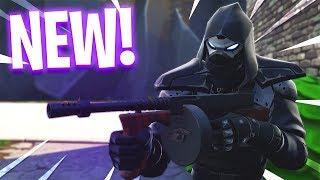 "Fortnite NEW ""Enforcer"" Road Trip Skin GAMEPLAY! (SECRET Skin Unlocked)"