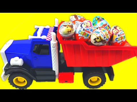 Thumbnail: ★ LEARN NUMBERS w/ SURPRISE EGGS ★ Kinder Surprise Eggs Masha and The Bear Kids Toys Маша и Медведь