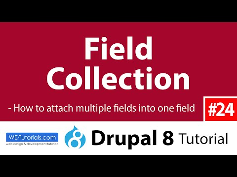 Drupal 8 - How To Create Multi Fields With Field Collection Module