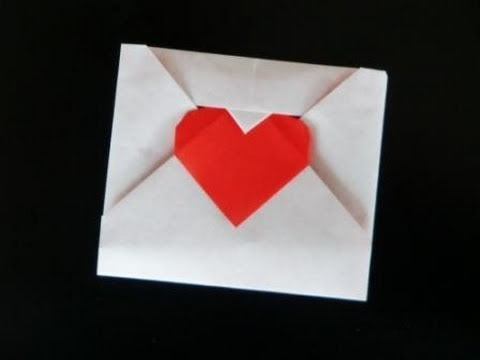 How to make an Origami Love Letter - YouTube