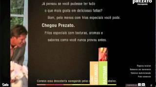 Site Prezato (Sadia) - Trilha sonora Argila Produções Musicais
