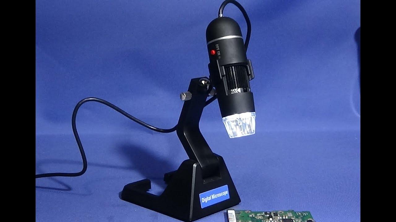 S digital usb microscope software program youtube