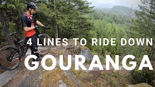Gouranga Trail   Squamish | 4 Lines Explained Down That Iconic Feature