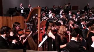 uso concert 18 november 2016 manou overstijns first violin player from the left