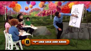 How to draw the Lorax - Watch Dr. Seuss