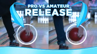 Pro vs Amateur Bowling Releases in Slow Motion