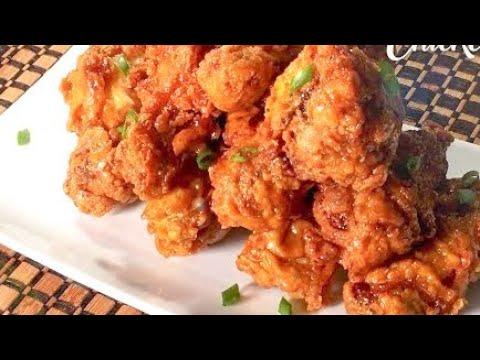 BEST Crispy Honey Garlic Chicken Wings | How To Make Honey Garlic Chicken Wings Recipe