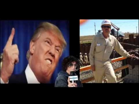 Trump Ask A Mexican Contractor to Build The Wall PRANK