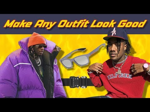 5 Things That Make Any Outfit Look Good | Men's Fashion Accessories, Glasses & Jewelry