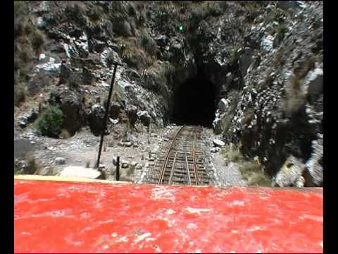 Ferro Carril Central Andino 2nd highest railway in the world, location Peru