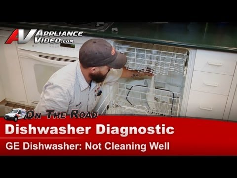 GE & Hotpoint Dishwasher Diagnostic - Not cleaning dishes - GSD4930Z04WW