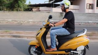 Honda Activa 5G Review Dazzle Yellow Metallic Colour!!