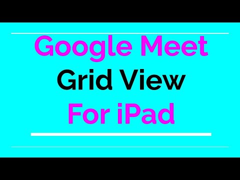 Google Meet Grid View For Ipad Finally Youtube