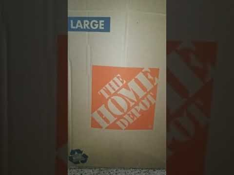 Home Depot Box | Large Box