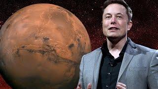 Elon Musk Unveils His Plan To Colonize Mars