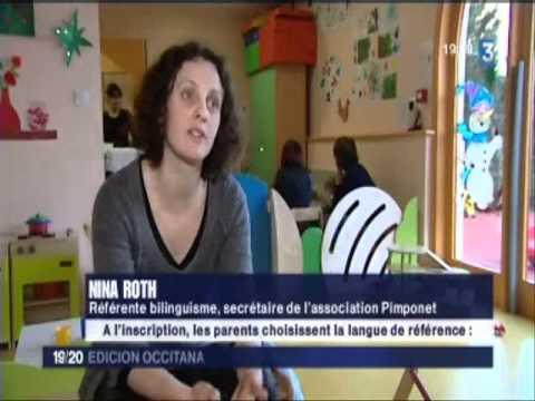 Crèche bilingue occitan - français  /  Ninoèra bilingua