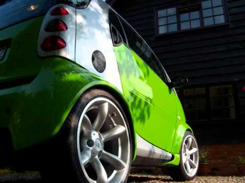 smart fortwo tuning green thing youtube. Black Bedroom Furniture Sets. Home Design Ideas