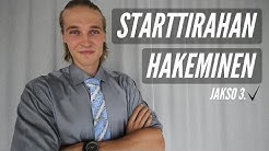 Starttiraha & Liiketoimintasuunnitelma | 6KK Aikaa Menestyä – Jakso 3
