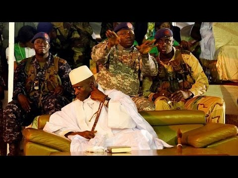 Gambia law society warns Jammeh over treasonable stunts