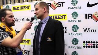 Intervjuu Rakvere Tarva abitreeneriga pärast kaotust Kalev/Cramole