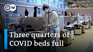 Moscow orders strict lockdown as COVID cases surge   DW News