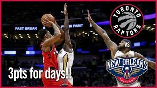 Raptors vs Pelicans - Wednesday Nov 15, 2017