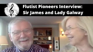 Flutist Pioneers Ep. 3: Sir James and Lady Galway (Interview w/ Terri Sánchez)