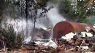 Sadler Salvage yard Fire