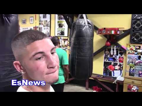 Drills For Boxers Using Tennis Ball With Tolik Kaminsky EsNews Boxing