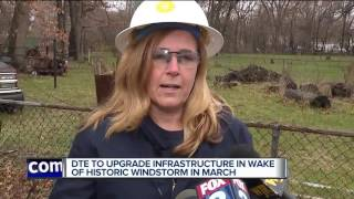DTE making repairs after massive power outage