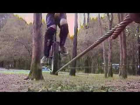 Unicycle trials