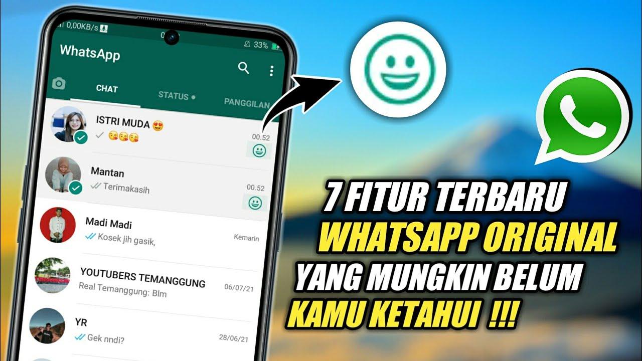 Terbaru!🔥 7 Fitur Rahasia Whatsapp 2020 | Yang Jarang Diketahui