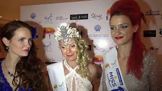 Miss Mermaid International Interview with the 3 winners