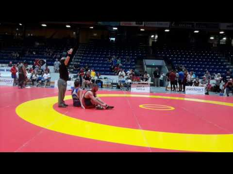 2016 Canada Cup: 65 kg Jeremy Podlog (CAN) vs. Jason Buckle (CAN)
