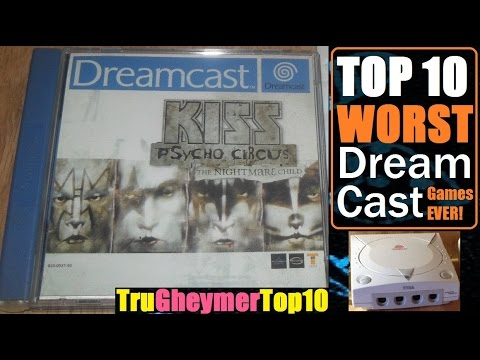 Top 10 Worst Sega Dreamcast Games Of All Time Youtube