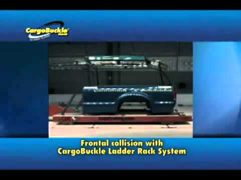 40790 1.25 Square 7 Pair CargoBuckle Ladder Rack System