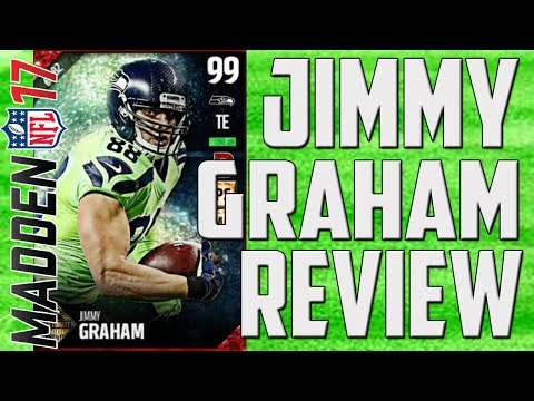 How Good is Ultimate Ticket Jimmy Graham? MUT 17 Card Review