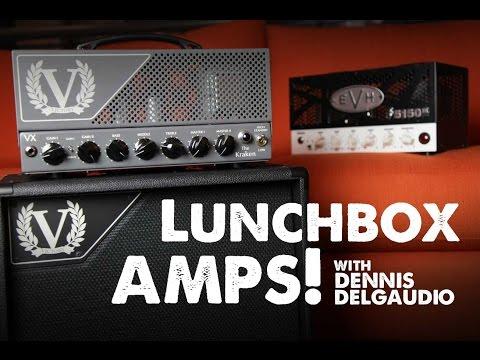 Dennis DelGaudio Demos EVH & Victory Lunchbox Amps