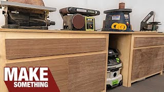 How To Make Quick And Easy Plywood Shop Furniture With Free Plans