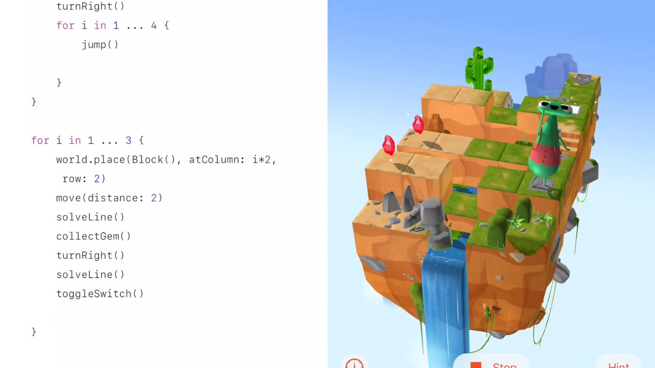 half off e2be1 08908 Connect and Solve - Swift Playgrounds