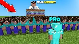 Minecraft Battle: NOOB vs PRO : 100,000 CLONES EVIL NOOBS in Minecraft / Animation