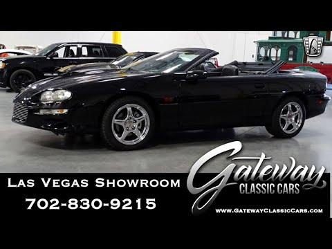 2002 Chevrolet Camaro Z28 For Sale Gateway Classic Cars #220-LVS