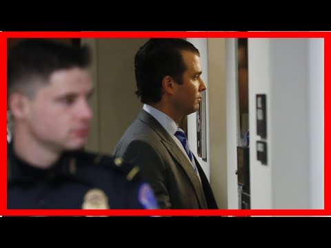 Donald trump Jr. had a marathon nine hours of interviews over Russia of election interference - HOT