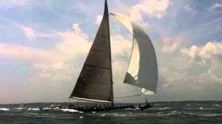 J Boats racing Newport