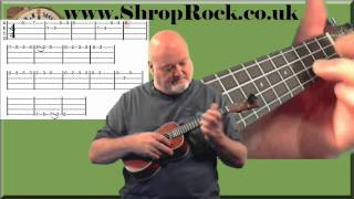How To Play Easy Ukulele (8) Tablature and how to play The Way To Mandalay by Chili Monster