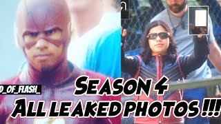 Flash 4x01 All Leaked Photos !!! Flash Season 4 Official Leaked Photos ! Wally In The Flash Suit !