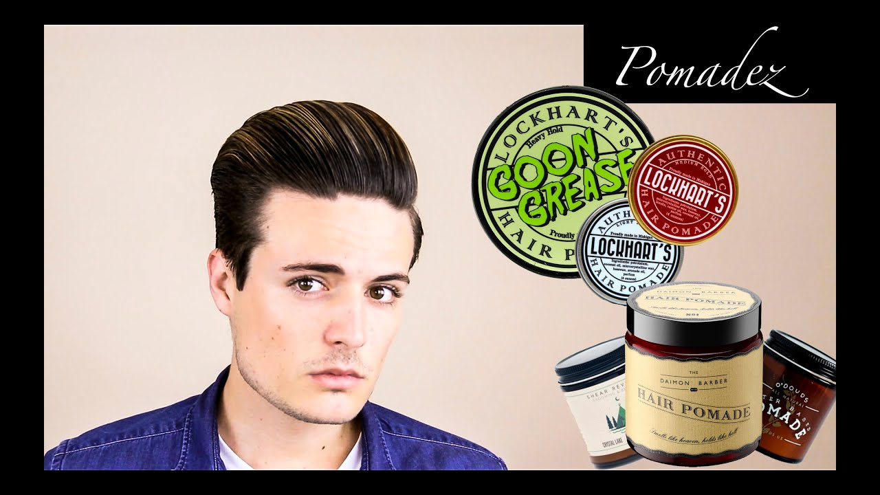 Hair Styling Oil Men Mens Hair Products All About Pomades  Water Based Vsoil Based .
