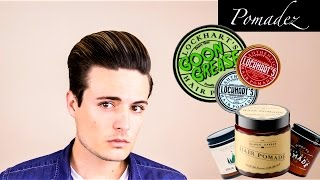 Mens Hair Products: ALL ABOUT Pomades | Water Based vs. Oil Based